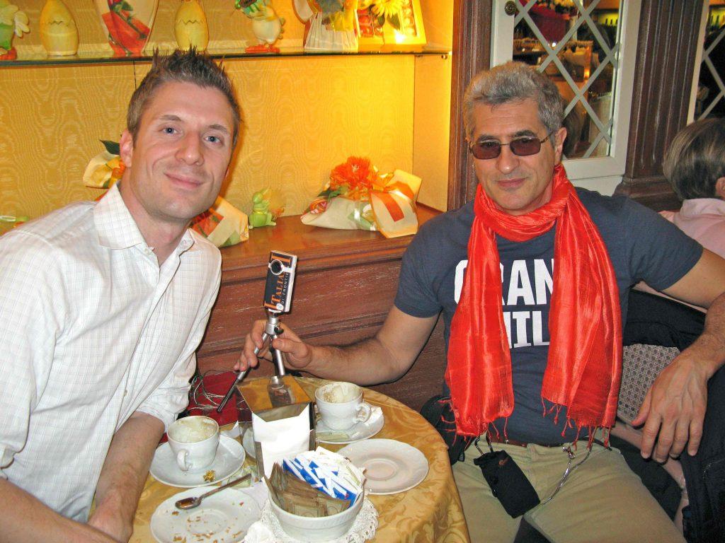 Con Lorenzo Thione nel 2011