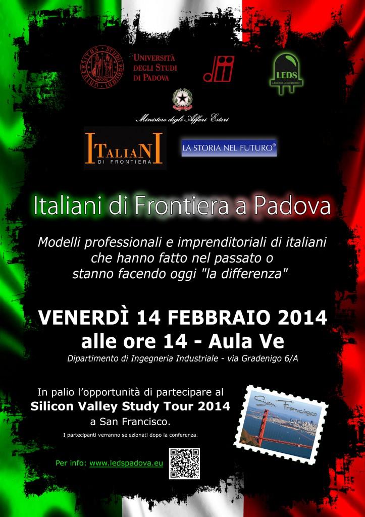 Italiani di Frontiera SV Tour a Padova