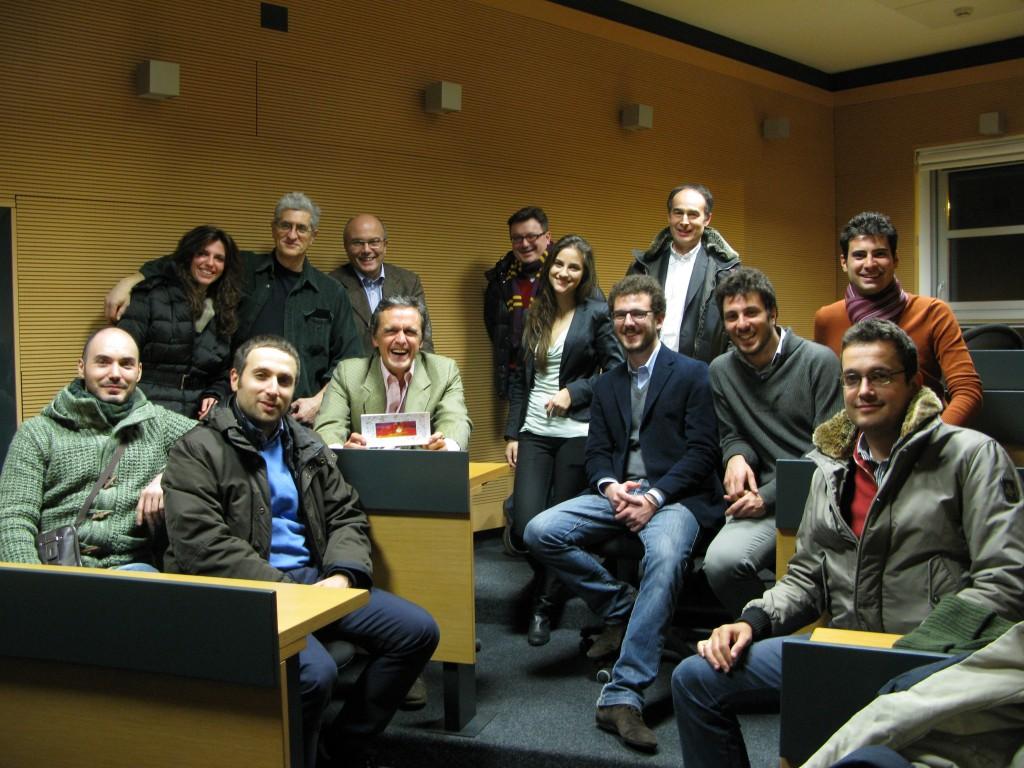 Al Politecnico con amici vecchi e nuovi di Italiani di Frontiera