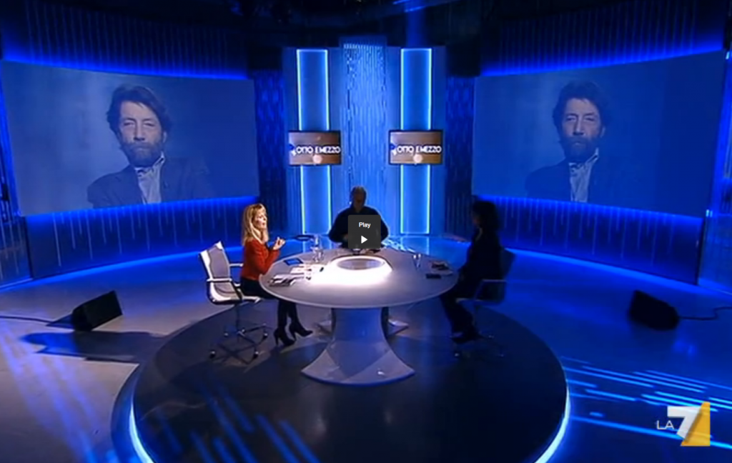 La puntata di Otto e Mezzo di Lilli Gruber del 28 febbraio su La7, con Norma Rangeri, Paolo Crepet e in collegamento Massimo Cacciari.