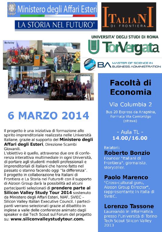 IdF a Roma Università Tor vergata