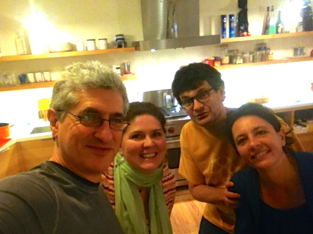 Con Silvia Giordani, Sabrina Bellotti e Felice Bonardi