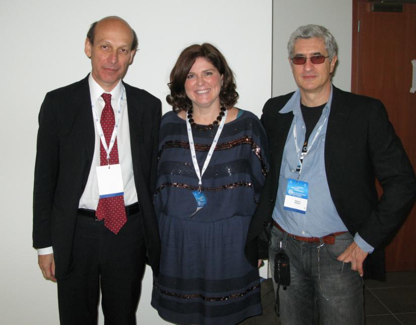 con Ivan Lobello e Slvia Giordani