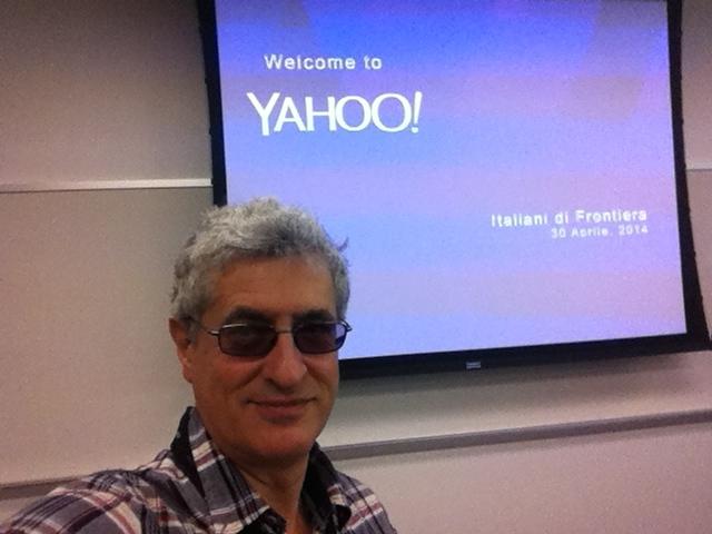 Il benvenuto di Yahoo! a IdF