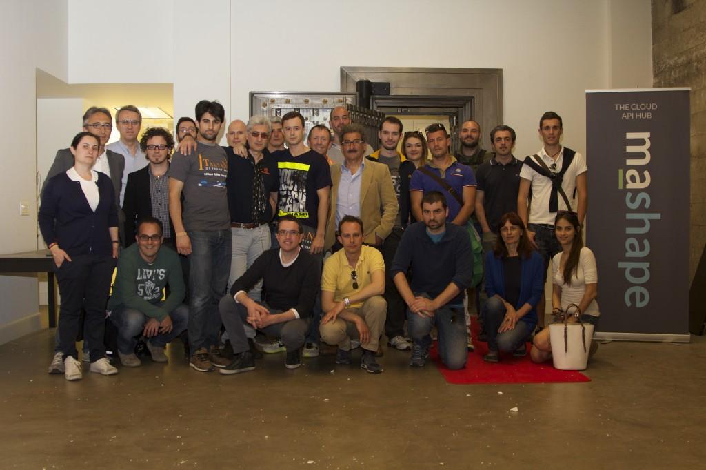 IdF Silicon Valley Tour Con Marco Palladino e Augusto Marietti nella sede Mashape.