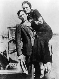 Clyde Barrow e Bonnie Parker