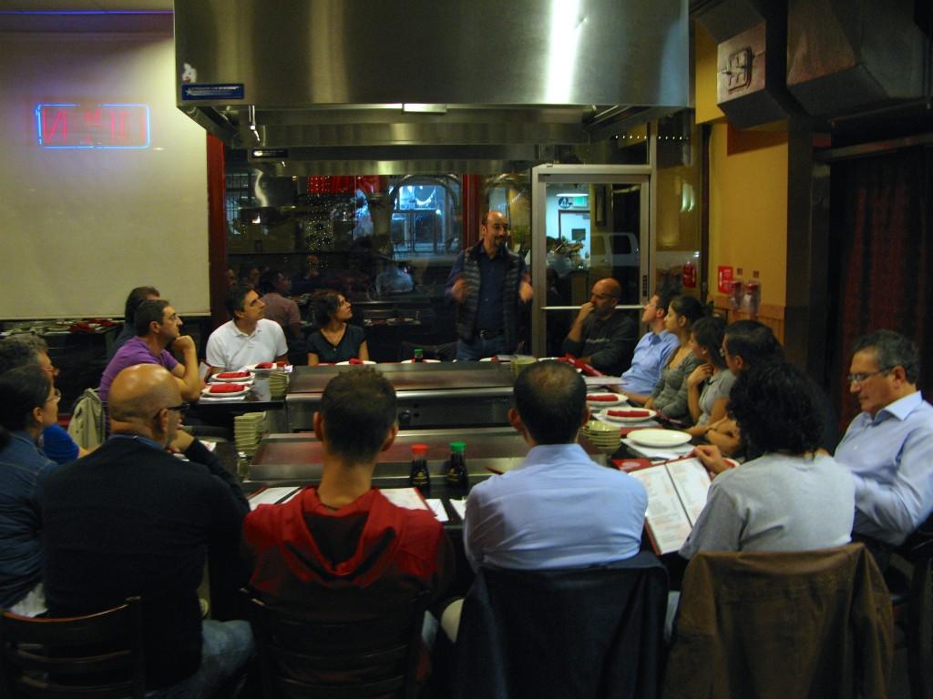 Pitch al ristorante giapponese: Pancrazio Autieri racconta la sua nuova avventura nel campo digital tv