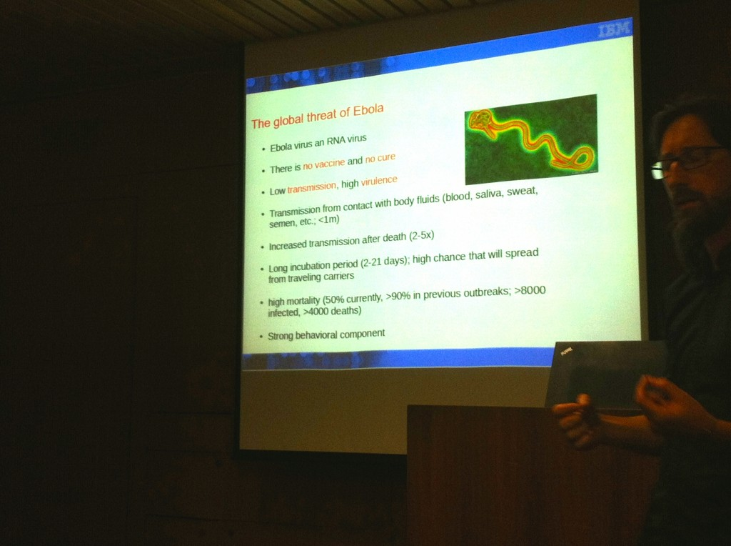 Simone Bianco (IBM) e la ricerca sul virus Ebola