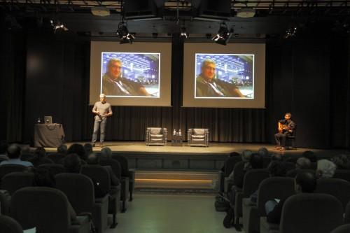 Italiani di Frontiera lo scorso anno a Bergamo, sala convegni Papa Giovanni XXIII, nell'evento Alumni scuola Matei, prima del premio Nobel John Nash