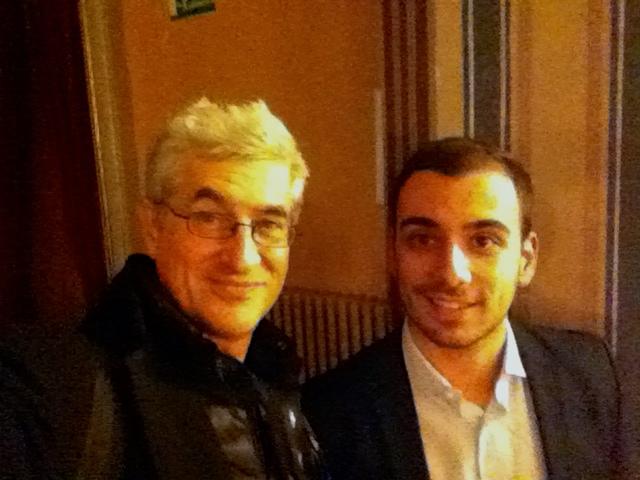 Con Valerio Natale a MeeTalents 2014 a Perugia