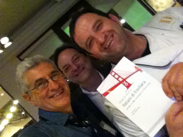 Con Donato Scotti chef bergamasco e Jeff Capaccio (SVIEC)