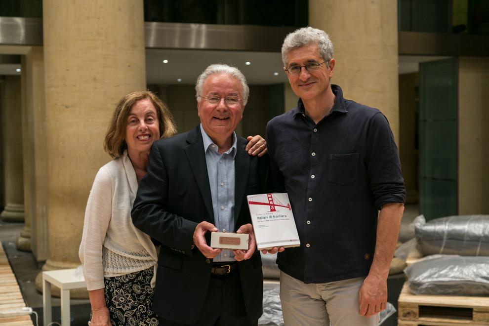 Con Federico ed Elvia Faggin a RNext, a Roma maggio 2015