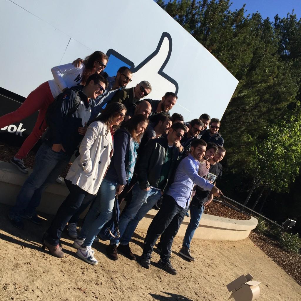 Italiani di Frontiera Silicon Valley Tour 2015 a Facebook.
