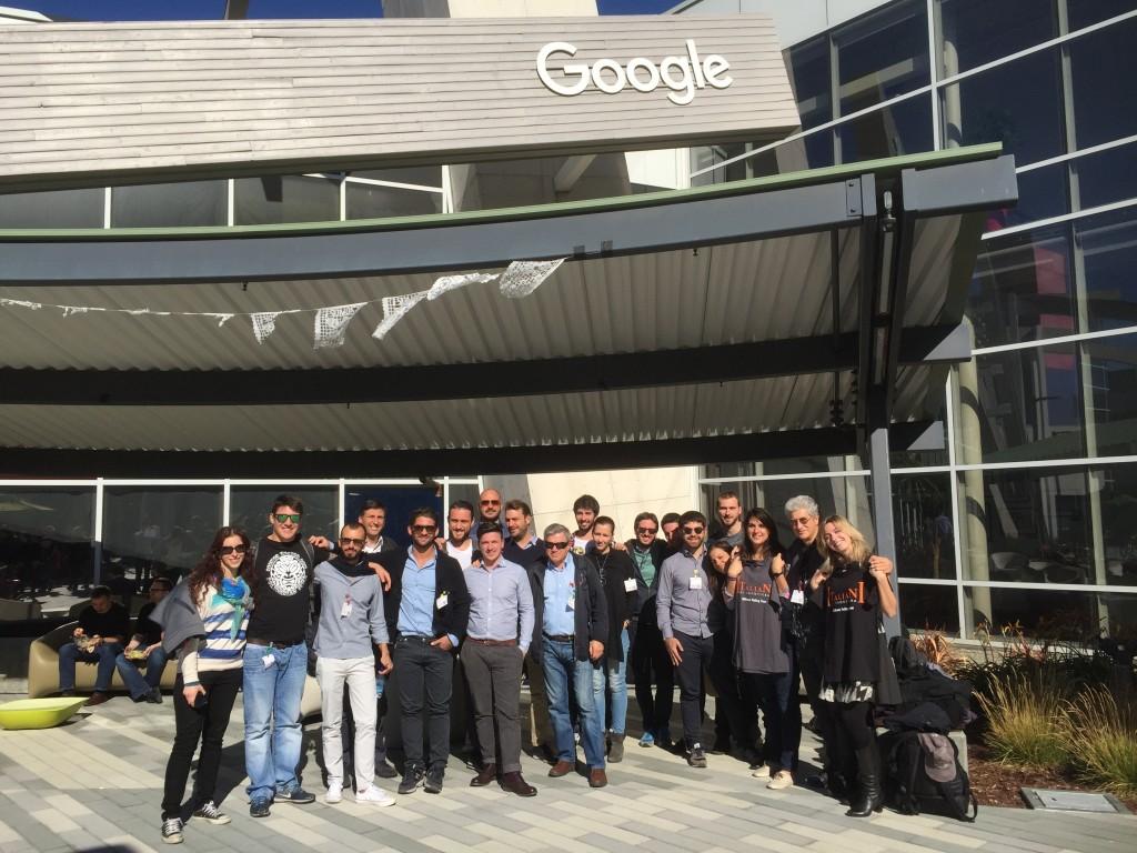 Italiani di Frontiera Silicon Valley Tour 2015 a Google
